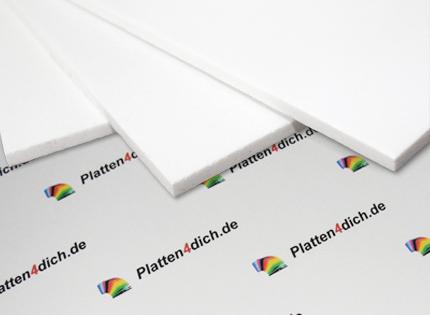 Fabulous PVC Hartschaumplatte weiß Platten4dich.de - Kunststoffplatten nach AW56
